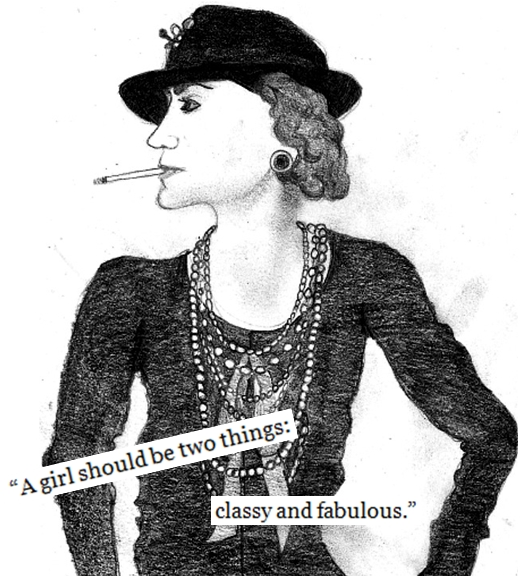 Coco Chanel par o0evelien0o